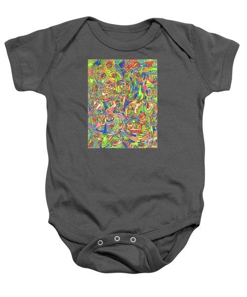 Garden Of Reflections Baby Onesie