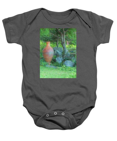 Garden Urn Baby Onesie