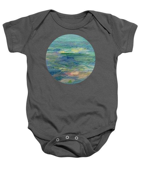 Gentle Light On The Water Baby Onesie
