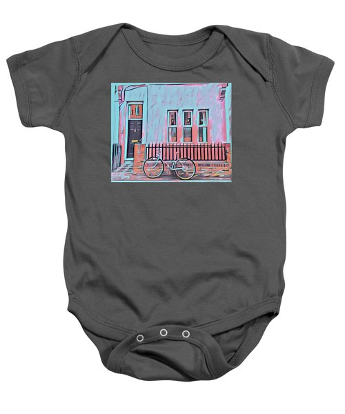 Georgetown Cycle Baby Onesie
