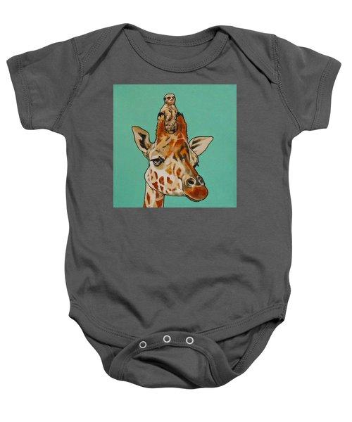 Gerald The Giraffe Baby Onesie