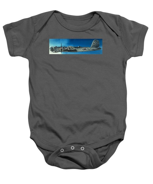 German Aircraft Of World War  Two Focke Wulf Condor Bomber Baby Onesie
