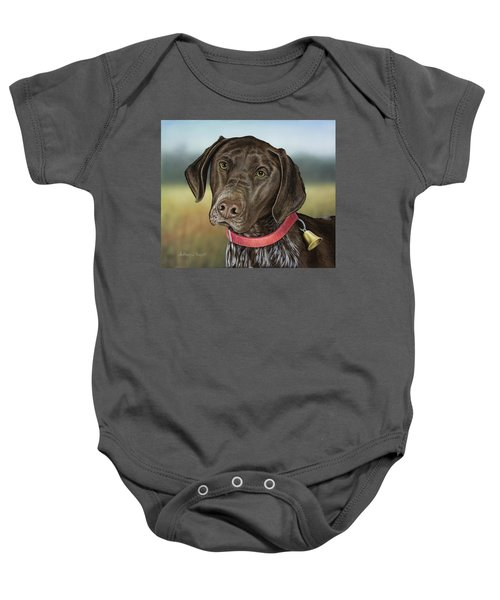 German Chocolate Baby Onesie