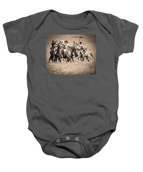 Gettysburg Cavalry Battle 7948s  Baby Onesie
