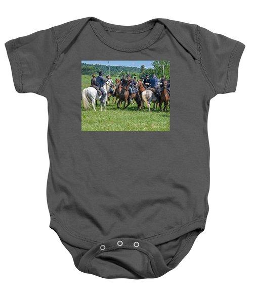 Gettysburg Cavalry Battle 7970c  Baby Onesie