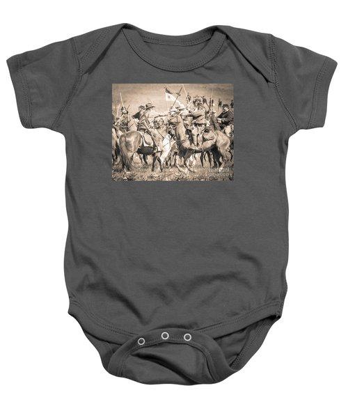 Gettysburg Cavalry Battle 8021s  Baby Onesie