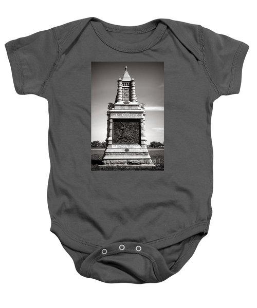 Gettysburg National Park 6th New York Cavalry Monument Baby Onesie