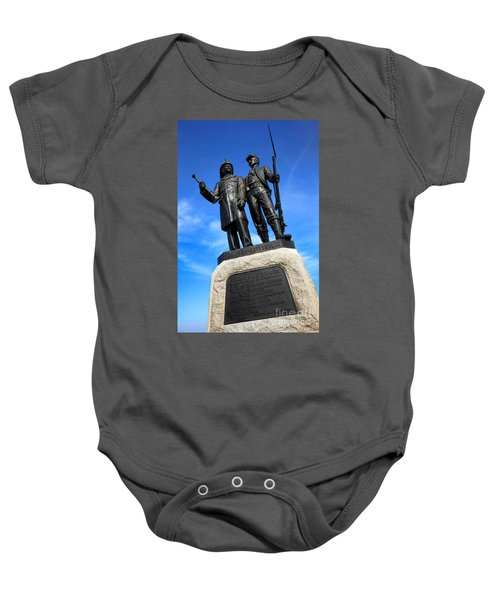 Gettysburg National Park 73rd Ny Infantry Second Fire Zouaves Memorial Baby Onesie