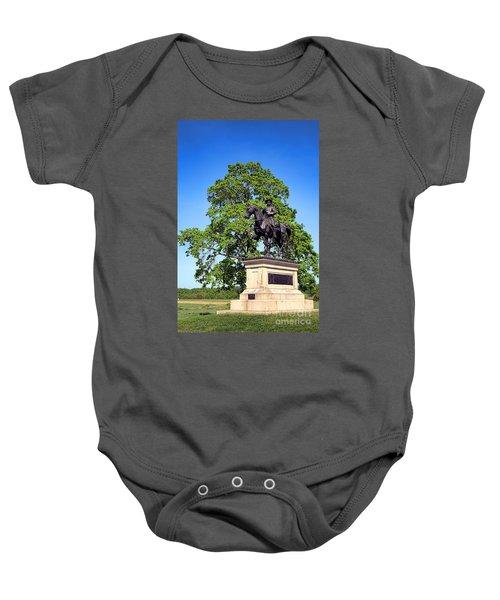 Gettysburg National Park John Fulton Reynolds Memorial Baby Onesie