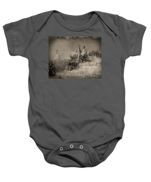 Gettysburg Union Infantry 8947s Baby Onesie
