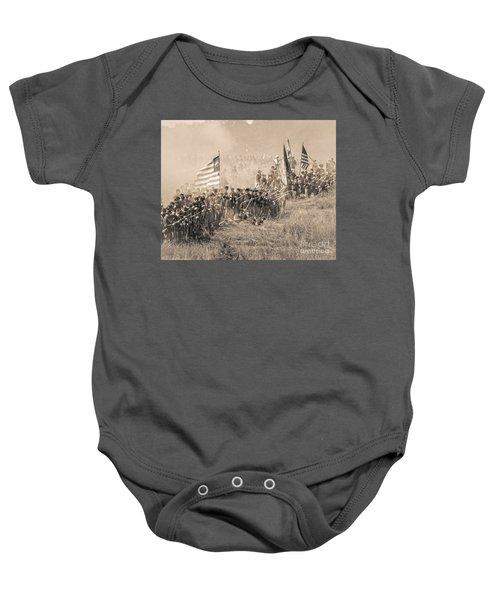 Gettysburg Union Infantry 8948s Baby Onesie