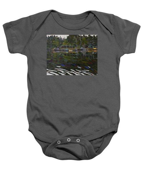 Gilmour Island Baby Onesie