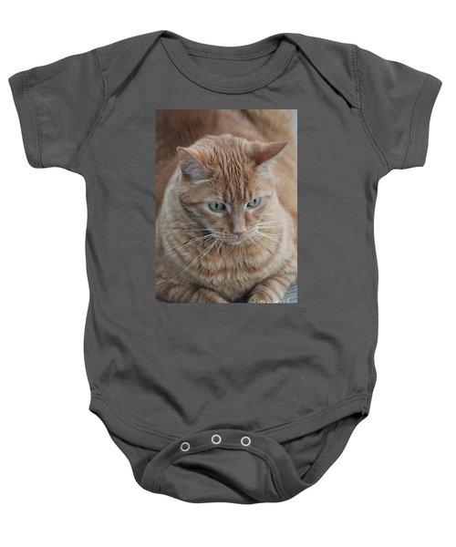 Ginger Cat Baby Onesie