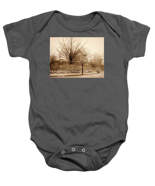 Ginkgo Tree, 1925 Baby Onesie