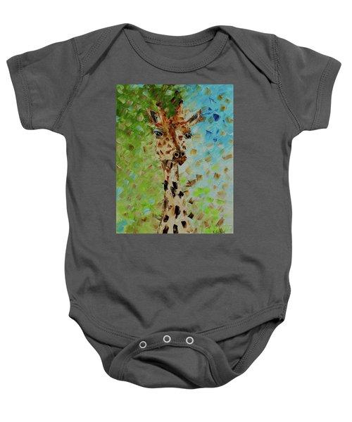 Giraffe Baby Onesie