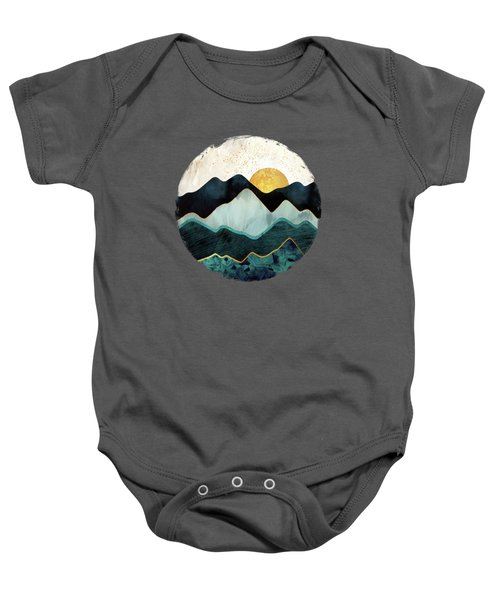 Glacial Hills Baby Onesie