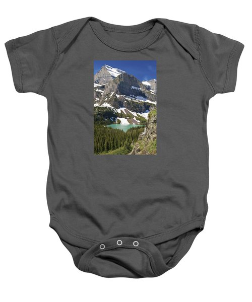 Glacier Backcountry Baby Onesie by Gary Lengyel