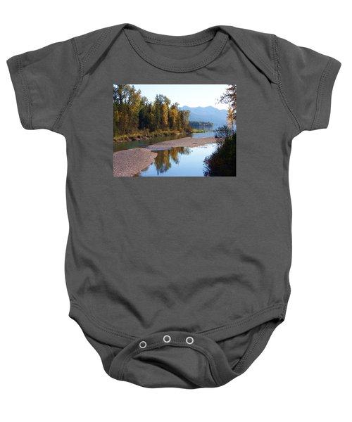 Glacier Park 12 Baby Onesie