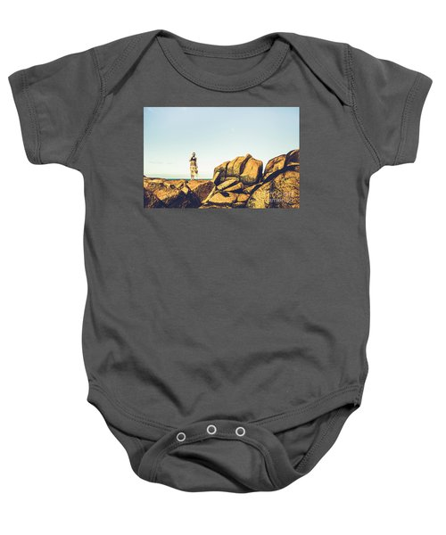Glamour In Untouched Paradise Baby Onesie