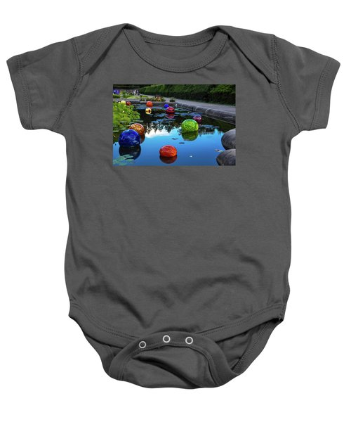 Glass At Biltmore Baby Onesie