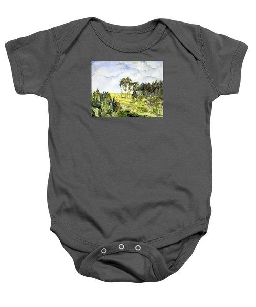 Glendalough Hillside Baby Onesie