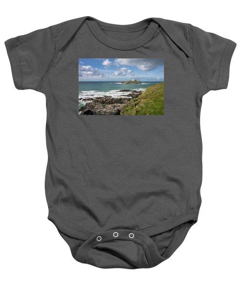 Godrevy Lighthouse 3 Baby Onesie