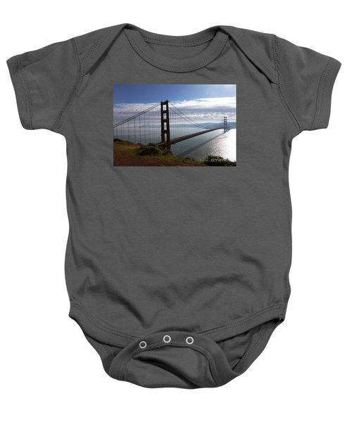 Golden Gate Bridge-2 Baby Onesie