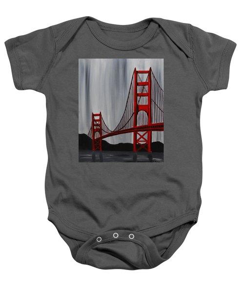 Golden Gate Bridge Baby Onesie