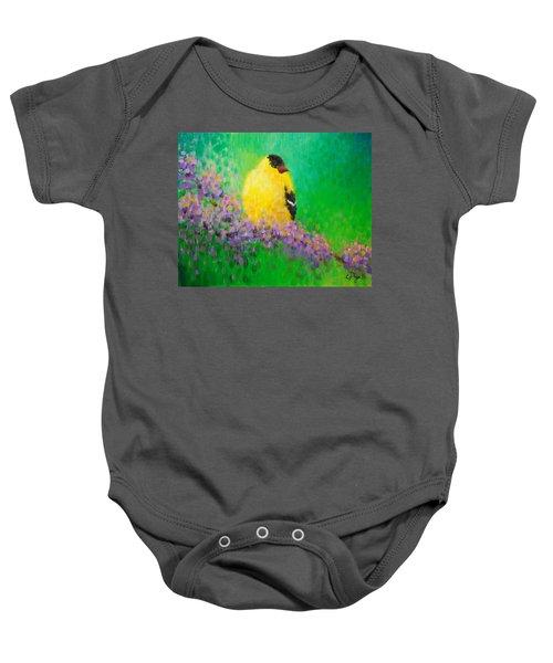 Goldfinch II Baby Onesie