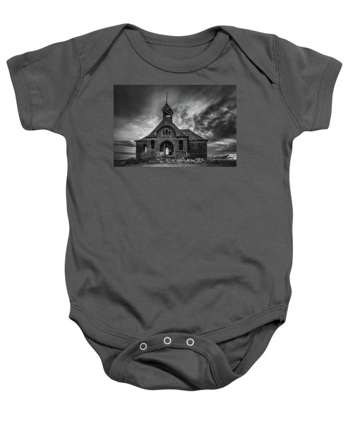 Goven School House Baby Onesie