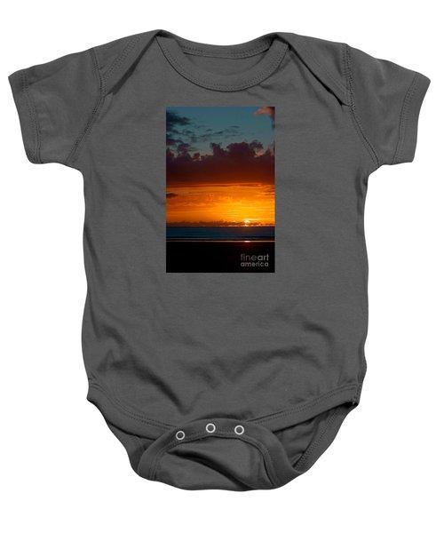 Gower Sundown Baby Onesie