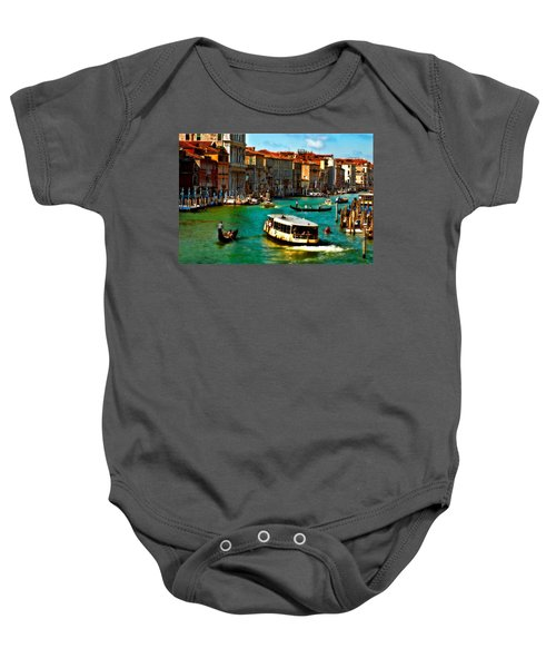 Grand Canal Daytime Baby Onesie