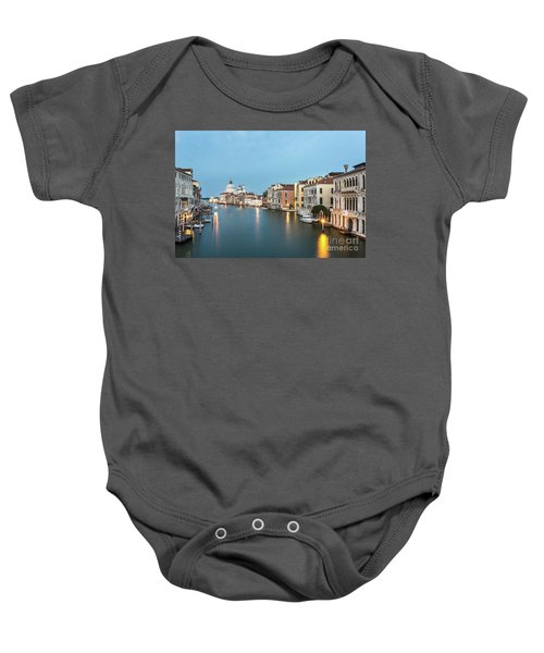 Grand Canal In Venice, Italy Baby Onesie
