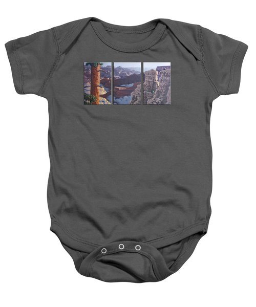 Grand Canyon Dawn Baby Onesie by Jim Thomas