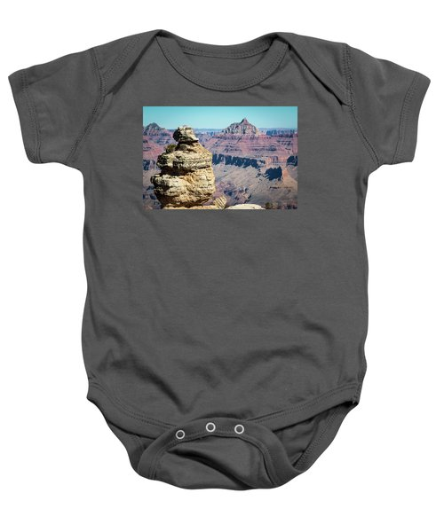 Grand Canyon Duck On A Rock Baby Onesie