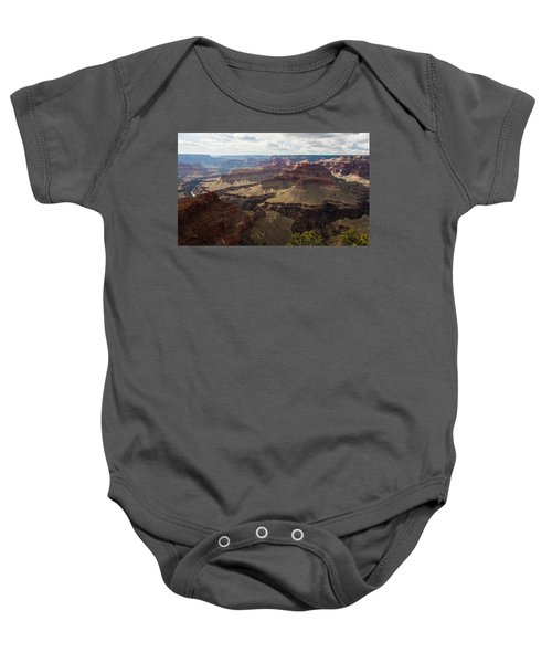Baby Onesie featuring the photograph Grand Canyon by Jennifer Ancker