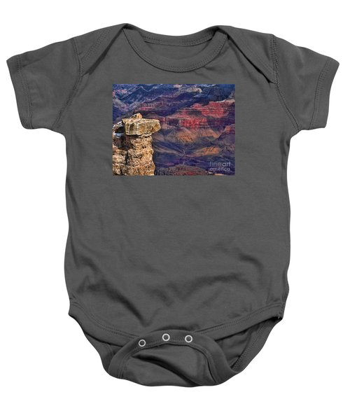 Grand Canyon Stacked Rock Baby Onesie