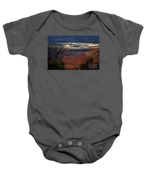 Grand Canyon Storm Clouds Baby Onesie