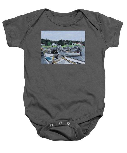 Grandfathers Wharf Baby Onesie