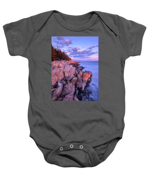 Granite Coastline Baby Onesie