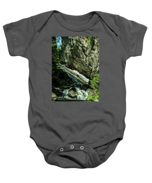 Granite Falls Of Ancient Cedars Baby Onesie