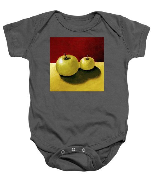 Granny Smith Apples Baby Onesie
