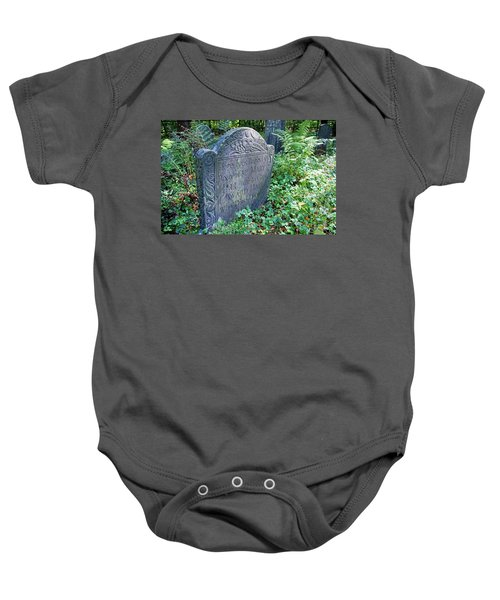 Grave Of Mary Hall Baby Onesie