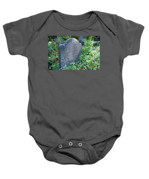 Grave Of Mary Hall Baby Onesie