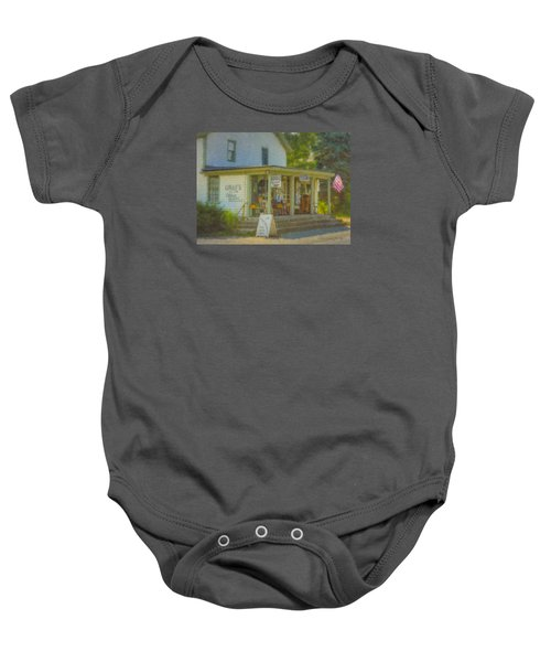 Gray's Store In Little Compton Rhode Island Baby Onesie