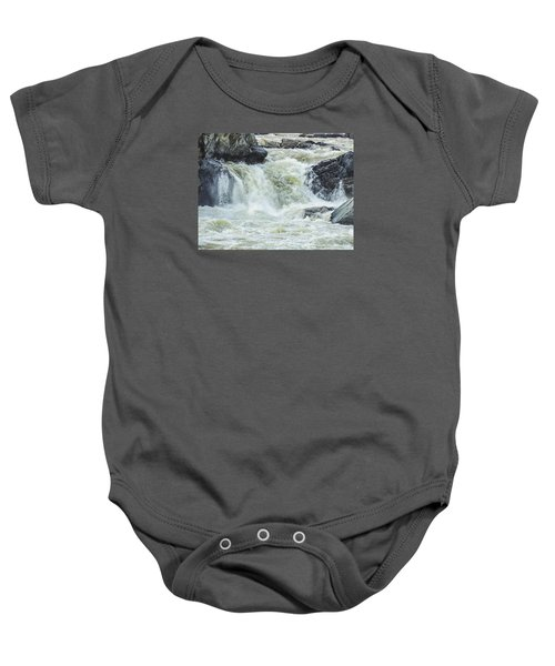 Great Falls Of The Potomac Baby Onesie