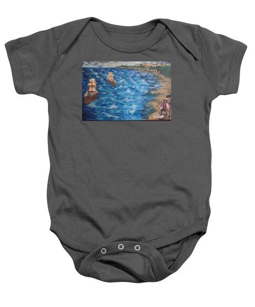 Great Lakes Pirates Baby Onesie