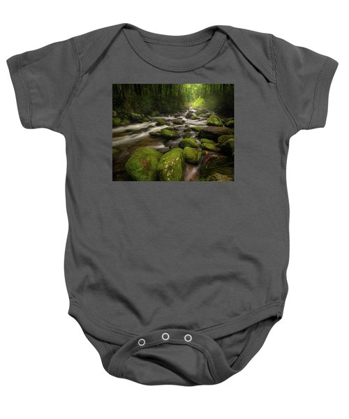 Great Smoky Mountains Roaring Fork Baby Onesie