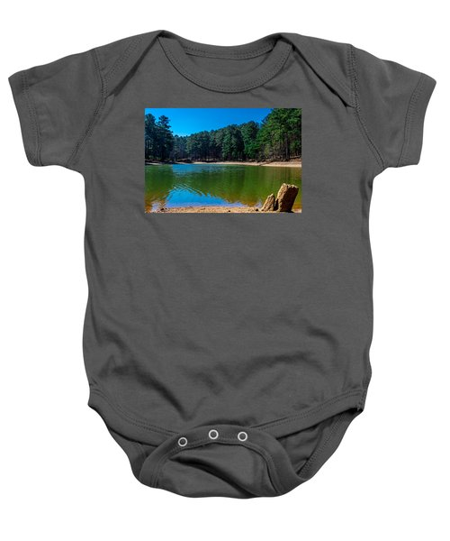 Green Cove Baby Onesie