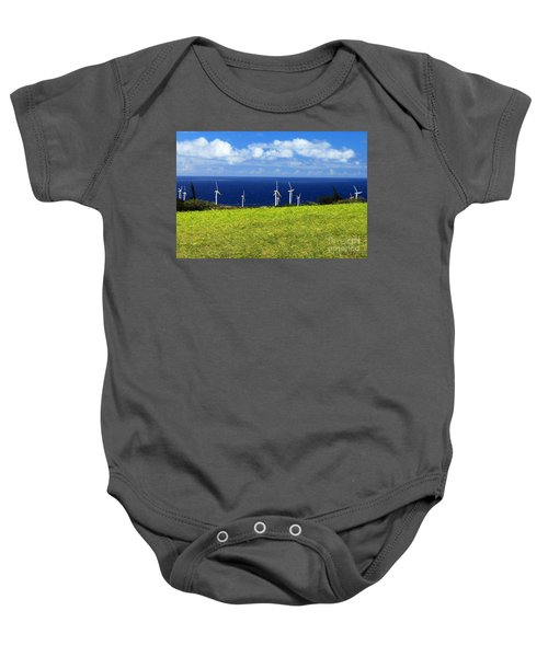 Green Energy Baby Onesie